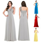 Chiffon Formal Evening Dress Gown Cocktail Prom Party Bridesmaid Dress Plus Size