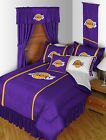 Los Angeles Lakers Comforter Sham & Pillowcase Twin Full Queen King Size