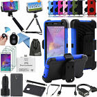 EEEKit Allin1 Accessories for Samsung Galaxy Note 4 Case+Bluetooth Remote+Tripod