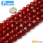 10mm Gemstone Red Agate Buddha Round Beads For Jewelry Making Free Shipping 15""
