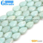 "Natural Amazonite Gemstone DIY Jewelry Making Loose Beads strand 15"" Pick Size"