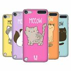 HEAD CASE DESIGNS KITTY CATS HARD BACK CASE FOR APPLE iPOD TOUCH 6G 6TH GEN