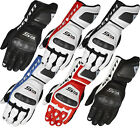 Rev It Jerez Motorcycle Gloves Kanagroo Leather Race Fit Palm Slider Motorbike