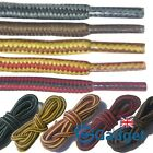 Strong Hiking Laces Bootlaces Shoelaces Interwoven - 90cm 120cm 140cm 180cm UK