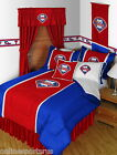 Philadelphia Phillies Bed in a Bag Drapes & Valance Twin Full Queen King Size