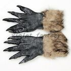 Halloween Werewolf Wolf Furry Gloves Hands Fancy Cosply Party Accessory For Men