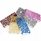 New Electroplating Hollow bling  Flower Pattern Cover Case For Apple iPhone 5 5S