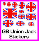 British Gb Union Jack Stickers Labels Circles Rectangles Ovals 12 Sizes