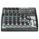 Behringer Xenyx 1202 Mic Pre Amp Analogue Mixer 12 Inputs Mixing Console