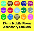 iPhone Accessory Stickers - Removable Adhesive 'Use With' Labels