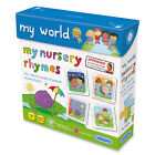Gibsons My World - My Nursery Rhymes (4-12 Pieces  -Brand New Children's Puzzles