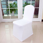 1-100 White Covers Spandex Lycra Chair Cover Wedding Banquet Party Arched