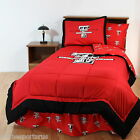 Texas Tech Raiders Comforter Sham and Valance Twin Full Queen King Size CC