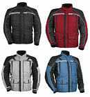 Tourmaster Mens Transition 3 Textile 3/4 Motorcycle Jacket All Sizes & Colors