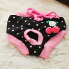 Pet Dog cotton tighten strap sanitary Physiological Pants Pet Underwear DiapersT
