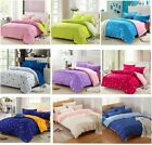 Soft Bedding Doona Duvet Quilt Cover/Pillowcases / Set