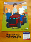 MIKE JUDGE SIGNED 11X14 PHOTO PSA DNA COA AUTOGRAPH KING OF THE HILL