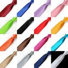 """Lackingone New 1.97""""/ 5CM Mens Silk Blend Solid Color Tie Casual Party Neck Ties"""