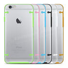 Clear Hard Back Silicone TPU Bumper Cover Case For New Apple iPhone 6 & 6 PLUS
