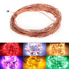 10M 100 LED multicolor String Fairy Light Waterproof Copper Wire Christmas