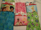 DISNEY Girls Size 4 or 6 Fleece Pajama Sleepwear Set NWT Fairies Princess Choice