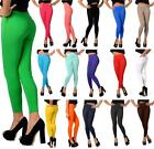 Leggings High Waist with pockets in 20 Colours Women Pants long Jeggings