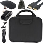 EEEKit Sleeve Bag+USB Hub+Mouse+Earphone+Mini/Micro HDMI Cable for RCA Laptop