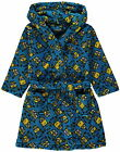 Boys Despicable Me Minions Dressing Gown Robe Hooded Fleece Age's 2-3 Years NEW