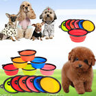 New Silicone Collapsible Travel Portable Pet Dog Cat Feeding Water Dish Feeding