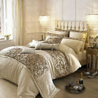 Celebrity Designer Kylie Minogue At Home Alexa Gold Sparkle Bedding Quilt Duvet