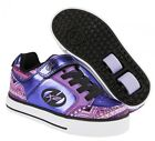 Heelys X2 Thunder Purple Multi Roller Shoes + FREE HOW TO DVD
