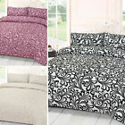 Seamless Abstract Floral Art Duvet Cover – Decorative Flower Pattern Bedding Set