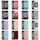 ONE DIRECTION 1D UFFICIALE DESIGN LOGO BARRE CASE PER APPLE iPHONE PHONES