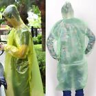 1/2/10Pcs Disposable Emergency Rain coat Raincoat Poncho for Camping Hiking