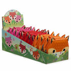 Cute Contemporary Adorable Fox Kids Vinyl Covered Sewing Kit - 3 Bright Colours!