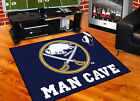 Buffalo Sabres Man Cave Area Rug Choose from 4 Sizes