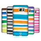 HEAD CASE WATERCOLOURED STRIPES SOFT GEL CASE FOR SAMSUNG GALAXY NOTE 5