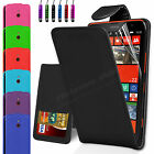 Leather Wallet Flip Case Cover FOR Nokia Lumia 1320 Free Screen Protector