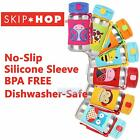 Skip Hop Kids Zoo Stainless Insulated Straw Water Bottle