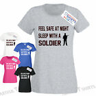 Soldier SLEEP WITH!! Artful T Shirts Mens & Womens Top Army gift ideas, Xmas