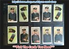 ☆ Wills - Naval Dress & Badges 1909 (Fillers) ***Pick The Cards You Need***