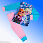 Girls BNWT Disney Official Genuine Frozen Pyjamas AOP Age 18 Months- 2-5 Years