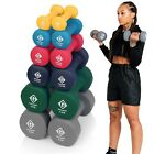 Dumbbells Neoprene Iron Hand Weights Home Gym Aerobic Exercise Dumbells Ladies