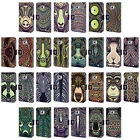 HEAD CASE DESIGNS AZTEC ANIMAL FACES 2 LEATHER BOOK CASE FOR SAMSUNG PHONES 2