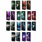 HEAD CASE DESIGNS DISCOVERING UNIVERSE LEATHER BOOK CASE FOR SAMSUNG PHONES 1