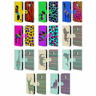 HEAD CASE DESIGNS PATTERNED SILHOUETTE LEATHER BOOK CASE FOR SAMSUNG PHONES 1