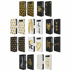 GRAND AS GOLD LEATHER BOOK WALLET CASE COVER FOR BLACKBERRY ASUS ONEPLUS PHONES