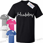 Hubby Mens T Shirt Just Married, Newly Weds, Groom Husband's Funny birthday gift