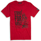STRIVE FOR GREATNESS T-SHIRT  - ANTIQUE RED - England, Alfred the Great, Saxon