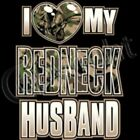 I Love My Crazy Redneck Husband T Shirt Camo Heart Parents MILF Wife Dad South